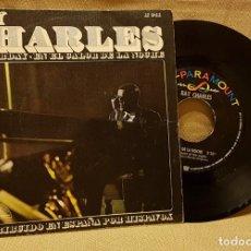 Discos de vinilo: RAY CHARLES - YESTERDAY - EN EL CALOR DE LA NOCHE. Lote 217766157