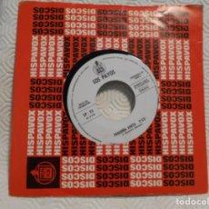 Discos de vinilo: LOS PAYOS. SINGLE PROMOCINAL CON 2 CANCIONES: ADIOS JAMAICA / PEQUEÑA ANITA. HISPAVOX 1969. Lote 217767316