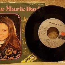Discos de vinilo: ANNE MARIE DAVID - JE SUIT L´ENFANT SOLEIL - GRAND PRIX 1979. Lote 217770253