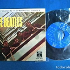 Discos de vinilo: BEATLES SINGLE EP EMI ODEON ESPAÑA RE EDICION REFERENCIA NUEVA EXCELENTE ESTADO DE CONSERVACION. Lote 217775148