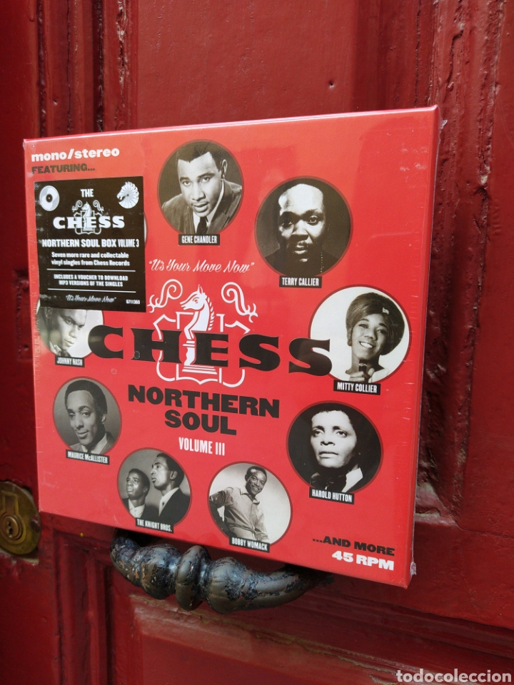 CHESS NORTHERN SOUL VOLUME III - CAJA-BOX SET CON 7 SINGLES. 45 RPM -NUEVA - PRECINTADA - (Música - Discos - Singles Vinilo - Funk, Soul y Black Music)