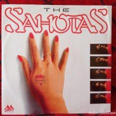 Discos de vinilo: THE SAHOTAS ARE YOU FEELING MAXI SINGLE VINILO 1990 UK. Lote 217782978