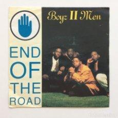 Discos de vinilo: BOYZ II MEN – END OF THE ROAD EUROPE 1992. Lote 217770376