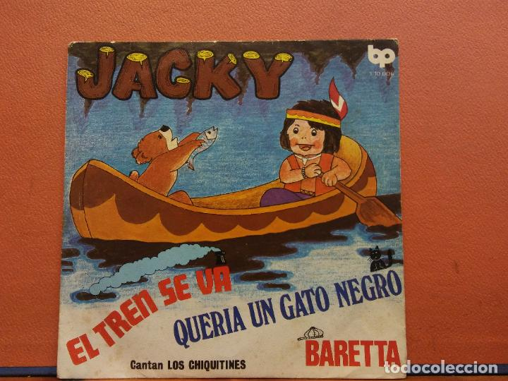 SINGLE. JACKY. CANTAN LOS CHIQUITINES. BP (Música - Discos - Singles Vinilo - Otros estilos)