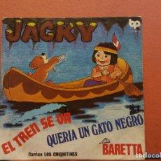 Disques de vinyle: SINGLE. JACKY. CANTAN LOS CHIQUITINES. BP. Lote 217803672