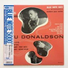 Discos de vinilo: LOU DONALDSON – NEW FACES – NEW SOUNDS JAPAN 1991 BLUE NOTE. Lote 217804908