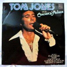 Discos de vinilo: TOM JONES LIVE AT CAESAR'S PALACE, DISCO VINILO LP, MFP , 1971. Lote 217808403
