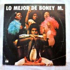 Discos de vinilo: BONEY M , LO MEJOR DE BONEY M., DISCO VINILO LP, ARIOLA, 1977. Lote 217809431