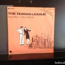 Discos de vinilo: THE HUMAN LEAGUE (ELECTRO, SYNTH POP) SINGLE 7' VINYL 1978 GERMANY. MINT. Lote 217810065