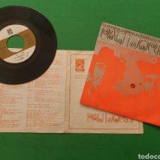 Discos de vinilo: SINGLE PAU I JORDI - GRUP DE FOLK. 1968. Lote 217810352