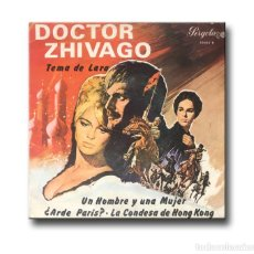 Discos de vinilo: DOCTOR ZHIVAGO - TEMA DE LARA/UN HOMBRE Y UNA MUJER. Lote 217812860