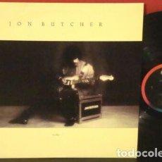 Discos de vinilo: JOHN BUTCHER - WISHES 1987, KILLER GUITAR !! ORG EDT USA + ENCARTE, TODO IMPECABLE. Lote 217812925