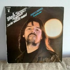 Discos de vinil: BOB SEGER - NIGHT MOVES LP MUSICA VINILO 1ª EDICION ESPAÑOLA 1977. Lote 217814318