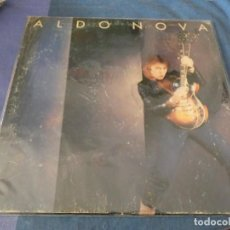 Discos de vinilo: BOXX7375 LP CLASICO DEL ROCK AMERICANO ALDO NOVA HOMONIMO SEÑALES OBVIAS DE USO LEVES. Lote 217814565