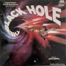Discos de vinilo: THE BLACK HOLE. EL ABISMO NEGRO. JOHN BARRY. Lote 217815008