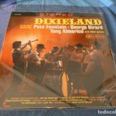 Discos de vinilo: BOXX7375 LP USA CIRCA 1967 DIXIELAND AT HIS BEST CON PETE FOUNTAIN Y OTROS BUEN ESTADO. Lote 217817493