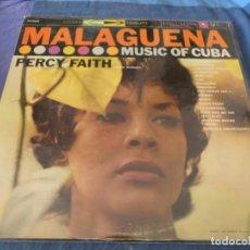 Discos de vinilo: BOXX7375 LP EASY LISTENING USA CA 1965 ESTUPENDO ESTADO PERCY FAITH MUSIC OF CUBA. Lote 217817778
