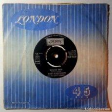 Disques de vinyle: BOBBY (BORIS) PICKETT - MONSTERS NASH PARTY / MONSTER MASH - UK SINGLE 1962 - LONDON. Lote 217818195