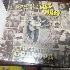 Discos de vinilo: BOXX7375 LP COUNTRY FOLK BLUE GRASS GOSPEL LIVE FROM HEE HAW BEST OF GRANDPA JONES USA 80S. Lote 217819365