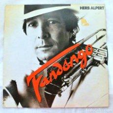 Discos de vinilo: HERB ALPERT, FANDANGO, DISCO VINILO LP, AMLK, 1982. Lote 217820276