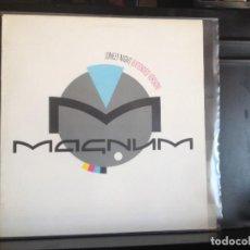 Discos de vinilo: MAGNUM - LONELY NIGHT (HARD ROCK) / RARE 12' VINYL MADE IN SPAIN 1986. NM - NM. Lote 217820446