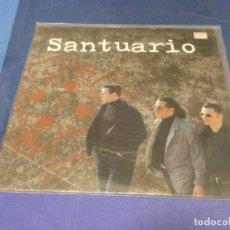 Discos de vinilo: EXPRO LP POP ROCK NACIONAL SANTUARIO 1993 HOMONIMO GRABACIONES ACCIDENTALES SOLO LINEAS FINAS. Lote 217827151