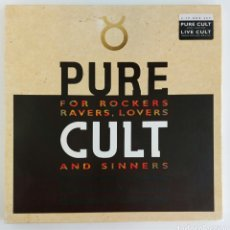Discos de vinilo: BOX SET - 4 LPS THE CULT. Lote 217827531