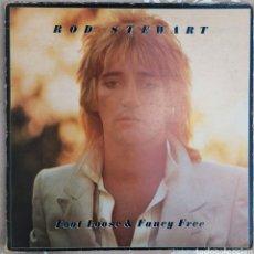 Discos de vinilo: LP ROD STEWART - FOOT LOOSE&FANCY FREE. Lote 217831505