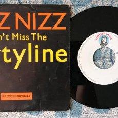 Discos de vinilo: SINGLE BIZZ NIZZ - DON'T MISS THE PARTYLINE. Lote 217832006