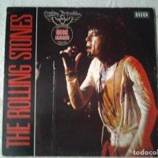 Discos de vinilo: THE ROLLING STONES -THE ROLLING STONES - LP DECCA 1970 ED. ALEMANA 6.21695 INCLUYE POSTER MICK JAGGE. Lote 217833206