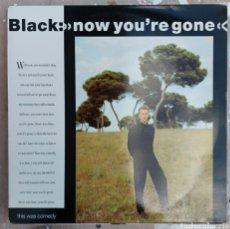 Discos de vinilo: LP BLACK - YOU'RE GONE. Lote 217837423