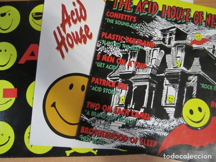 LOTE 3 DISCOS VINILO ACID MIX ACID HOUSE THE ACID HOUSE OF NEW BEAT (Música - Discos - LP Vinilo - Disco y Dance)