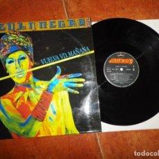 Discos de vinil: AZUL Y NEGRO VUELVA VD. MAÑANA MAXI SINGLE VINILO AÑO 1986 CONTIENE 2 TEMAS CARLOS GARCIA VASO RARO. Lote 217840978