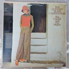 Discos de vinilo: LP RAY CONNIF - PLAYA CARPENTERS. Lote 217841146