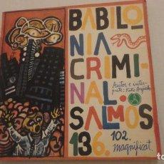 Discos de vinilo: ANTIGUO EP. KIKO ARGUELLO.BABILONIA CRIMINAL.SALMOS 102 136.MAGNIFICAT.PAX 1968. Lote 217841861