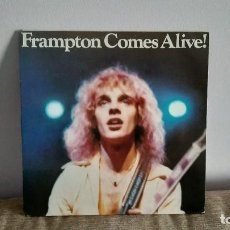 Discos de vinil: PETER FRAMPTON - FRAMPTON COMES ALIVE LP MUSICA DOBLE VINILO EDICION ESPAÑOLA 1986. Lote 217844382