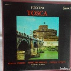 Discos de vinilo: TOSCA PUCCINI CAJA CON 2 LP'S. Lote 217845673