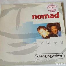 Discos de vinilo: NOMAD - CHANGING CABINS - 1991 - LP. Lote 217846467
