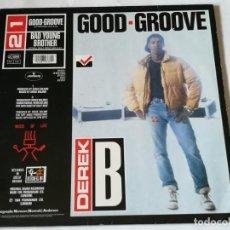 Discos de vinilo: DEREK B - GOOD-GROOVE - 1988. Lote 217846675