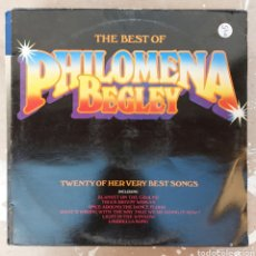 Discos de vinilo: LP THE BEST OF PHILOMENA BEGLEY. Lote 217848097