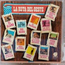 Discos de vinilo: LP LA RUTA DEL OESTE. Lote 217850090