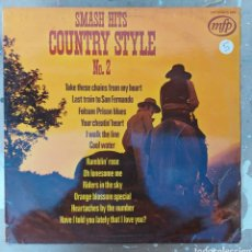 Discos de vinilo: LP SMASTH HITS COUNTRY STYLE N° 2. Lote 217850256