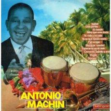 Disques de vinyle: ANTONIO MACHIN - ISABEL / DOS PERLAS / EL BARDO +9 - LP 1967. Lote 217851075
