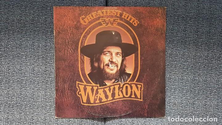 WAYLON - GREATEST HITS. EDITADO POR RCA. AÑO 1.979. PERFECTO ESTADO DEL DISCO (Música - Discos - LP Vinilo - Country y Folk)