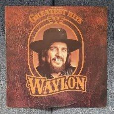 Discos de vinilo: WAYLON - GREATEST HITS. EDITADO POR RCA. AÑO 1.979. PERFECTO ESTADO DEL DISCO. Lote 217859068