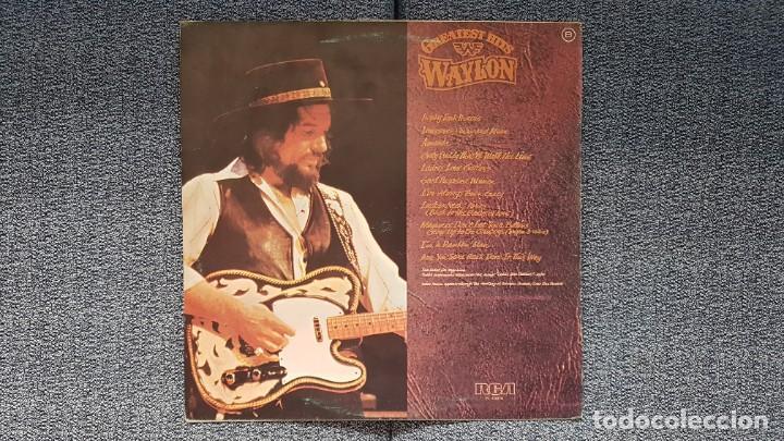 Discos de vinilo: Waylon - Greatest hits. Editado por RCA. año 1.979. PERFECTO ESTADO DEL DISCO - Foto 2 - 217859068