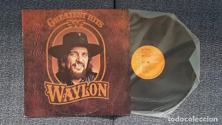 Discos de vinilo: Waylon - Greatest hits. Editado por RCA. año 1.979. PERFECTO ESTADO DEL DISCO - Foto 3 - 217859068