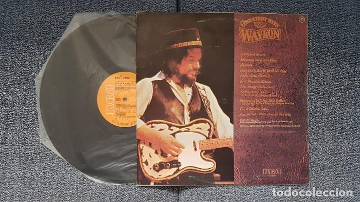 Discos de vinilo: Waylon - Greatest hits. Editado por RCA. año 1.979. PERFECTO ESTADO DEL DISCO - Foto 4 - 217859068
