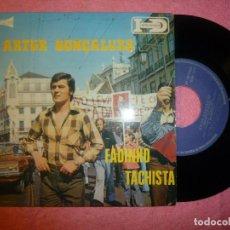 "Discos de vinilo: 7"" ARTUR GONÇALVES - FADINHO TACHISTA - EP - PORTUGAL - INTERDISCO IDEP 1070 (EX-/EX-). Lote 217859790"
