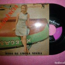 """Discos de vinilo: 7"""" FLORENCIA - MODA DA AMORA NEGRA - EP - PORTUGAL PRESS - ORFEU ATEP 6394 (EX-/EX). Lote 217862138"""